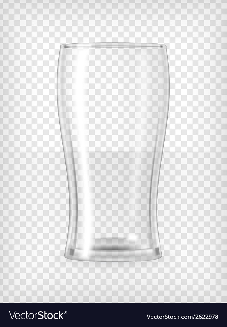 Beer glass vector