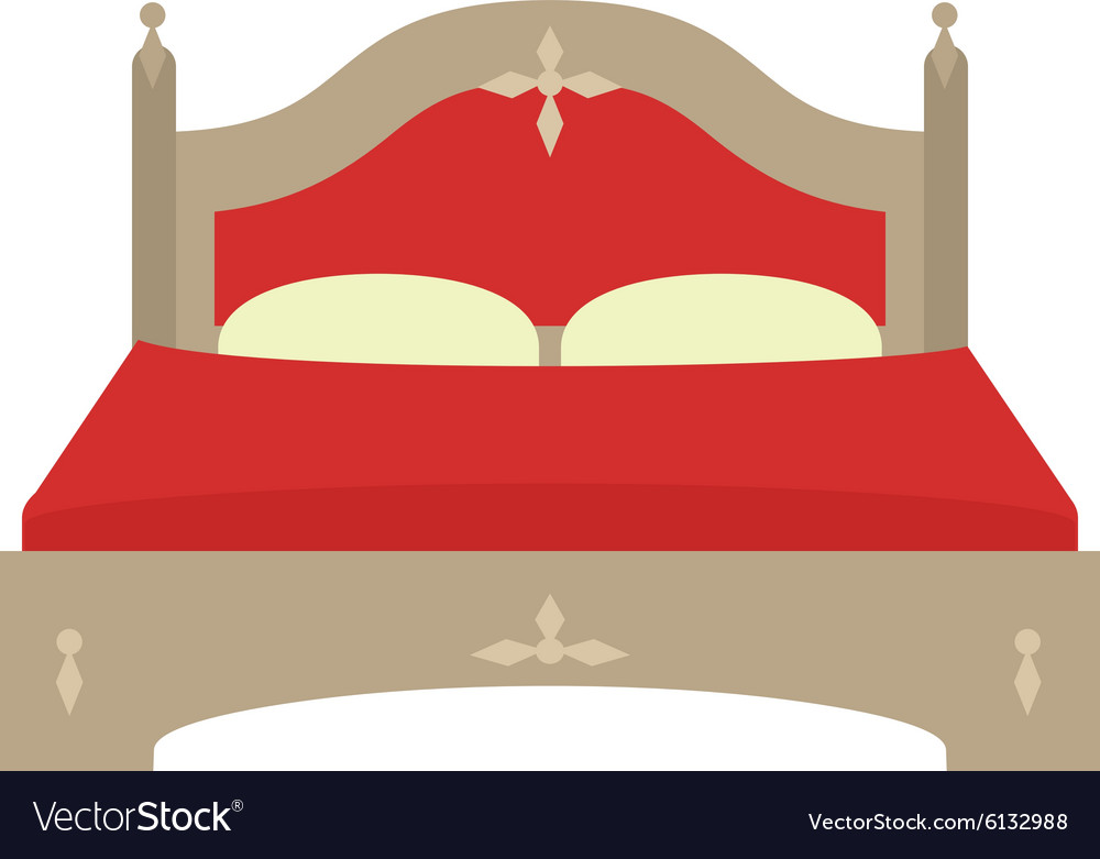 Double bed ii vector