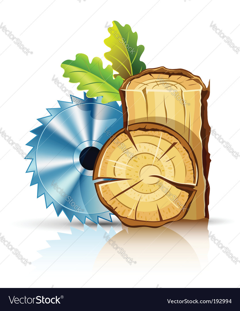 Woodworking industry vector