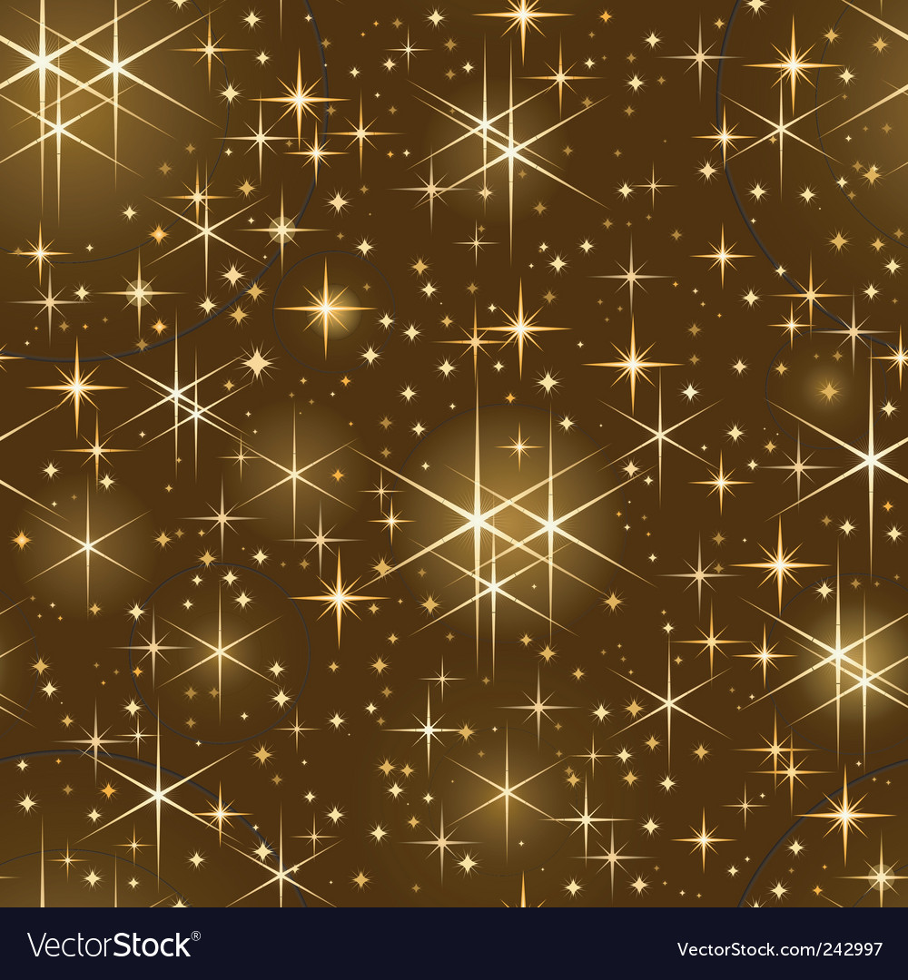 Starry sky pattern vector