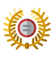 Sports award icon vector image