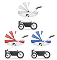 baby carriage stock vector image