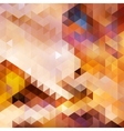Abstract sunset autumn background card vector image vector image