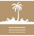 women have a rest on a resort under a palm tree a vector image vector image