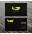 Modern Business Cards Templates Set vector image