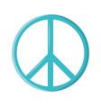 symbol peace vector image
