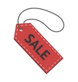 sale badge isolated on white vector image