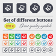 Laptop icon sign Big set of colorful diverse vector image vector image