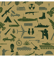 Military background Seamless pattern Military vector image