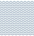 seamless abstract pattern with waves vector image