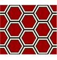 seamless hexagonal pattern vector image