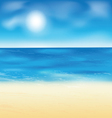 sand beach background vector image