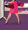 women accessories vector image