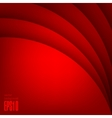 Red modern background vector image