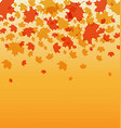 AutumnThanksgiving background poster vector image