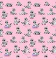 cartoon raccoon seamless vector image