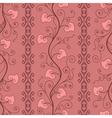 valentine pattern vector image vector image