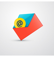 Envelope - E-mail Icon vector image