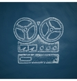 stereo recorder icon vector image
