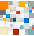 Abstract Retro Square Background vector image