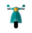 scooter bike icon image vector image