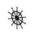 black helm on white vector image