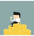 Business situation vector image