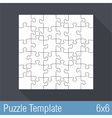 Jigsaw Puzzle vector image vector image