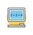 Teaching Elementary Mathematics vector image
