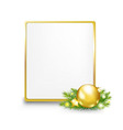 Golden Gift Tag vector image vector image