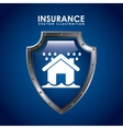 insurance icon vector image
