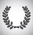 wreath design vector image