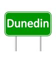 Dunedin road sign vector image