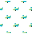 Plane toy cartoon icon for web and vector image