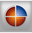business circle vector image vector image