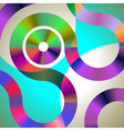eps10 contour gradient curves vector image vector image