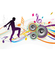music composition vector image vector image