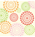 dotted circles vector image