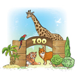 Zoo vector image