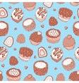 Seamless Yummy pattern vector image