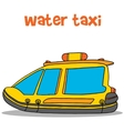 Collection of water taxi cartoon vector image