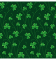 St patrick pattern vector image