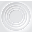 White rippled surface background vector image