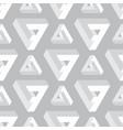 seamless geometric imagination pattern vector image