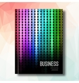 Business design background Cover Magazine vector image