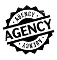 Agency rubber stamp vector image