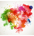 Abstract spots background with place for your text vector image vector image