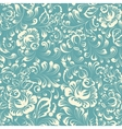 Khohloma style floral pattern vector image