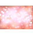 Pink lights vector image