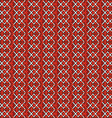 red vintage seamless pattern vector image